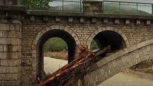 Inondations : après le déluge, les habitants des Cévennes sont sous le choc (FRANCEINFO)