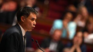 Olivier Faure, à l'Assemblée nationale à Paris, le 4 juillet 2017. (CHRISTOPHE ARCHAMBAULT / AFP)