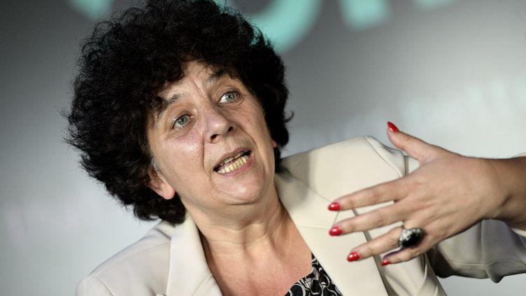 La ministre de l'Enseignement supérieur Frédérique Vidal, le 4 juin 2020 àCesson-Sévigné (Ille-et-Vilaine). (MAXPPP)