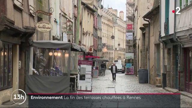 Environnement : la ville de Rennes interdit les terrasses chauffées