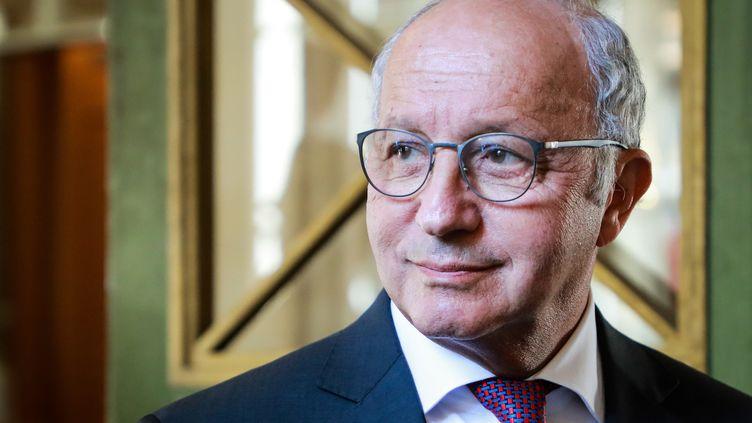 Laurent Fabius, leprésident du Conseil constitutionnel, le 21 juillet 2020. (LUDOVIC MARIN / AFP)
