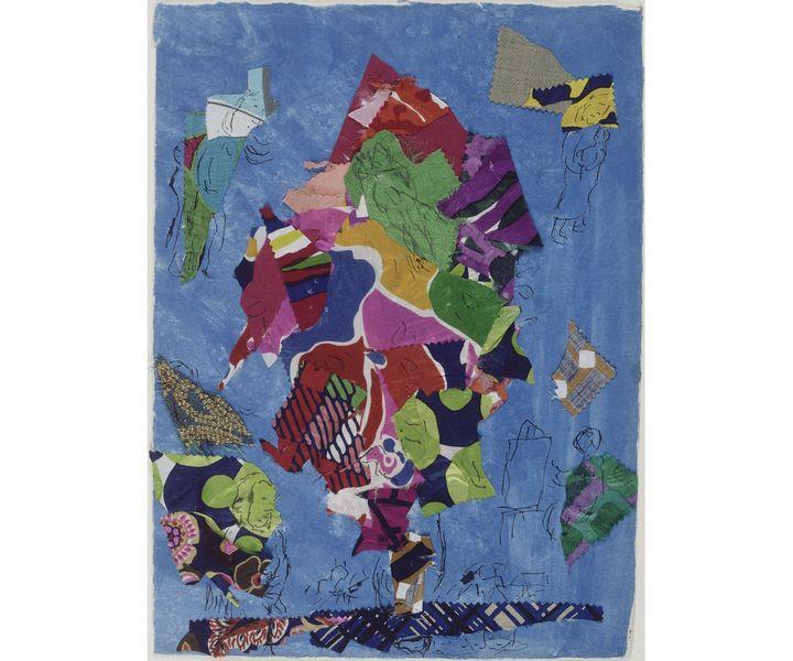 """Marc Chagall,""""Sarrebourg, chapelle des Cordeliers, la Paix ou L'Arbre de Vie"""", 1974, Dépôt du Centre Pompidou, musée national d'art moderne au Musée national Marc Chagall, Nice (© Adagp, Paris 2020 Photo © RMN-Grand Palais (musée Marc Chagall) / Gérard Blot)"""