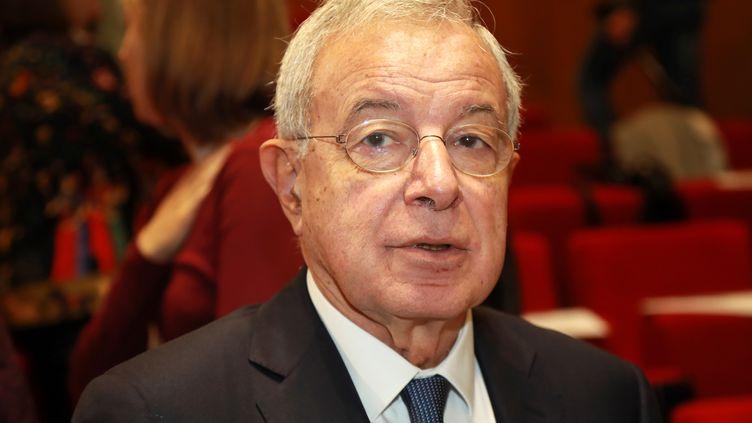 Alain Lamassoure, ancien ministre délégué aux Affaires européennes et au Budget, à Paris le 7 octobre 2016. (JACQUES DEMARTHON / AFP)