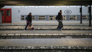 La gare de Bruxelles-Midi (Belgique), le 25 mai 2016. (THIERRY ROGE / BELGA MAG / AFP)