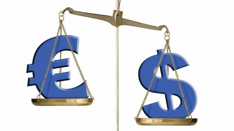 Mardi 23 mai, le cours de la monnaie européenne a atteint 1,26 dollar. (CHARLIE ABAD / PHOTONONSTOP / AFP)