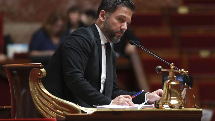 Hugues Renson à l'Assemblée nationale à Paris le 28 juillet 2017. Illustration. (JACQUES DEMARTHON / AFP)