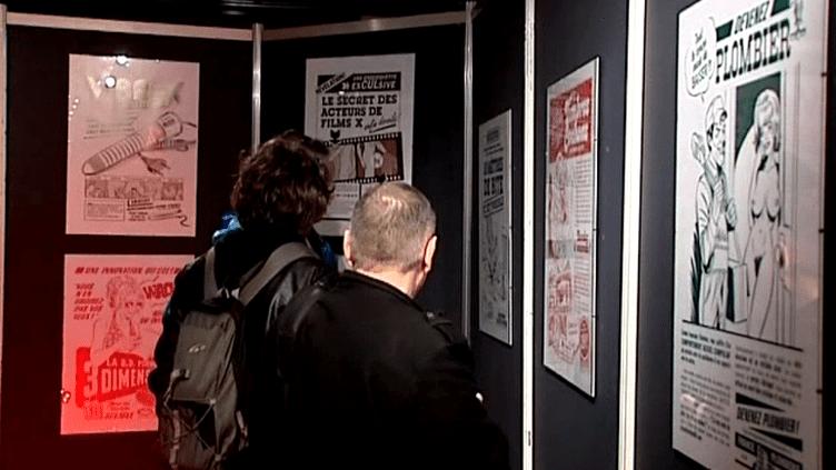 """La BD """"adulte"""" reine des nuits d'Angoulême.  (France 3 / Culturebox)"""