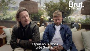 VIDEO. Leur univers, leur rencontre… Jamie Hewlett et Damon Albarn racontent l'histoire de Gorillaz (BRUT)