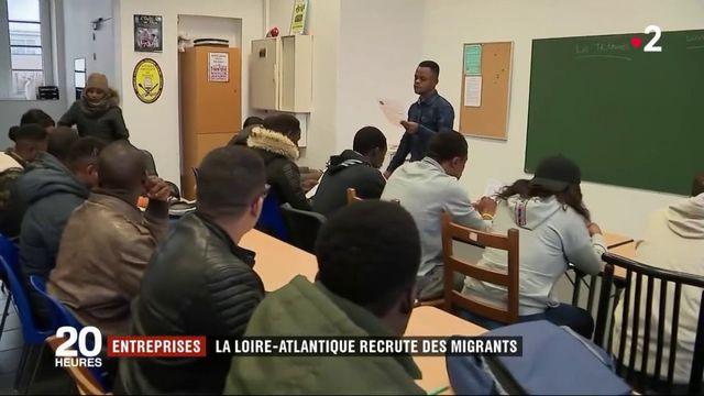 Loire-Atlantique : les entreprises recrutent des migrants