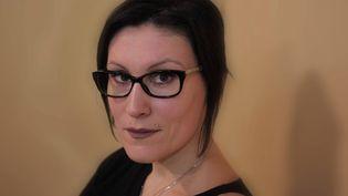 Ovidie, réalisatrice de l'enquête Pornocratie, les multinationales du sexe et ancienne actrice et réalisatrice de films X, en janvier 2014. (COTTEREAU FABIEN / MAXPPP)