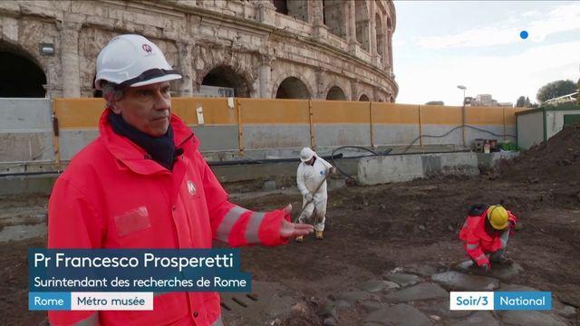Rome : difficile de construire un métro en plein cœur d'une zone à forte valeur historique