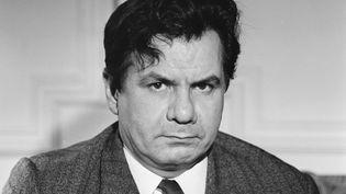 Le comédien Michel Galabru, le 29 novembre 1966. (GEORGES HERNAD / INA / AFP)