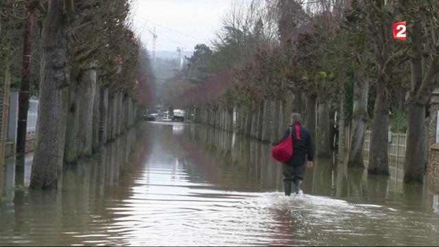 Inondations dans les Yvelines : 600 foyers privés de courant