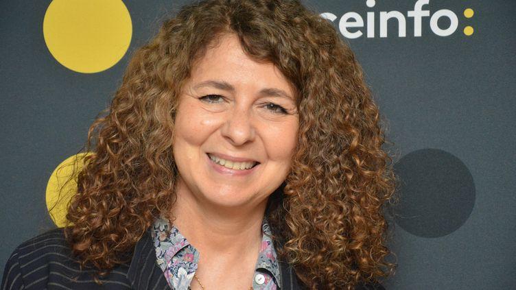 """Valérie Toranian, auteure de """"Une fille bien"""". (RADIO FRANCE / JEAN-CHRISTOPHE BOURDILLAT)"""