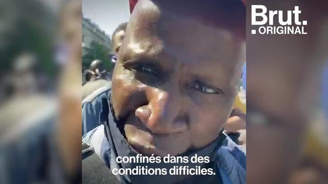 Sans-papiers et sympathisants ont manifesté le 30 mai à Paris pour appeler à la régularisation des étrangers en situation irrégulière. Voici le message de Anzoumane Sissoko, porte-parole de la Coordination parisienne des sans-papiers.