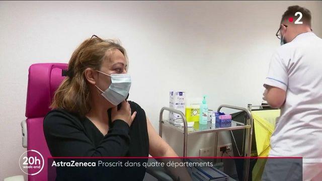Covid-19 : la vaccination avec AstraZeneca stoppée dans quatre départements