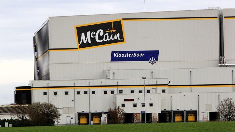 L'usine de frites surgelées McCain à Harnes (Pas-de(Calais), le 4 décembre 2011. (DELPHINE PINEAU / LA VOIX DU NORD / MAXPPP)