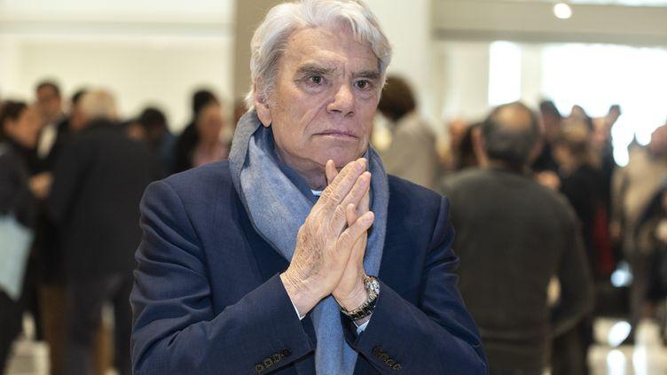 Bernard Tapie au palais de justice de Paris, le 4 avril 2019. (SAMUEL BOIVIN / AFP)