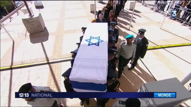 Israël : les adieux à Shimon Peres
