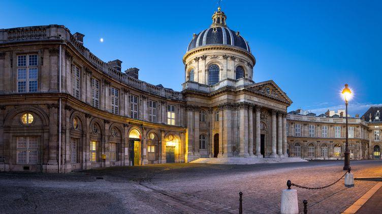 L'Institut de France, situé Quai de Conti (Paris 6e), face au Pont des Arts. (FRANCOIS ROUX / ONLY FRANCE / AFP)