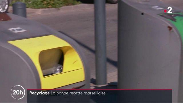 Recyclage à Marseille : un système de points pour encourager le tri des déchets