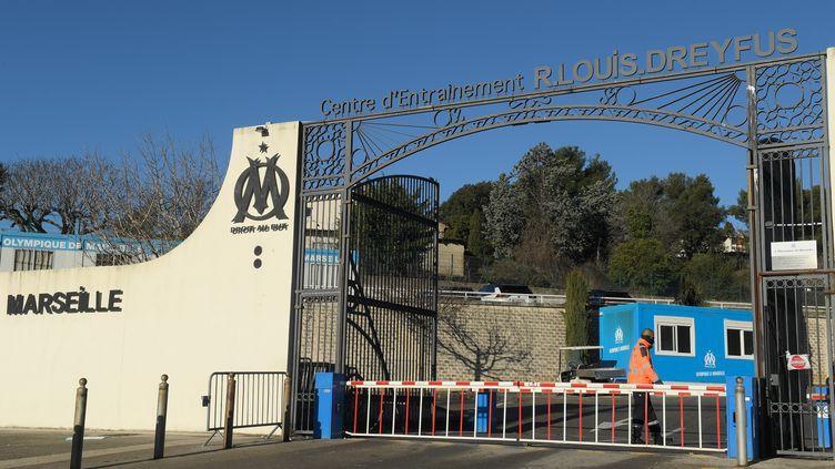 La Commanderie, centre d'entraînement de l'Olympique de Marseille (NICOLAS TUCAT / AFP)