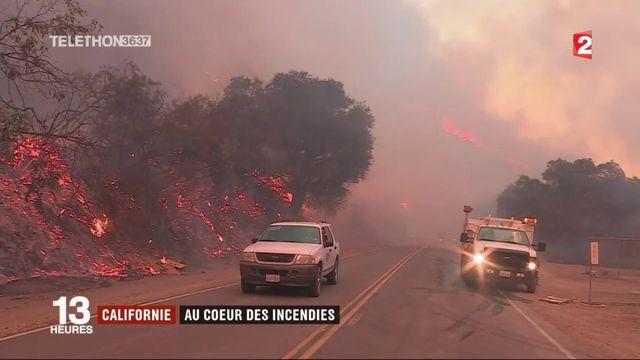 Californie : les incendies sont de plus en plus inquiétants