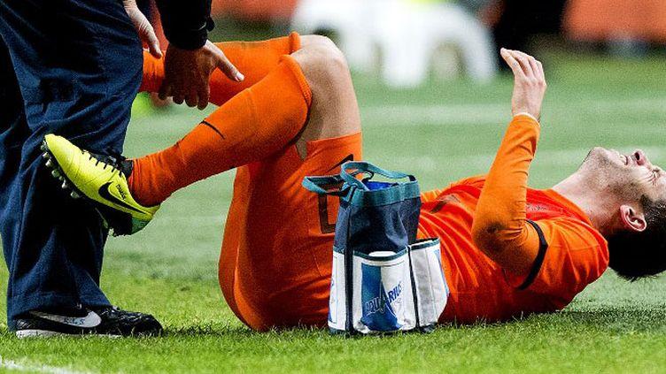 Le joueur hollandais Rafael van der Vaart