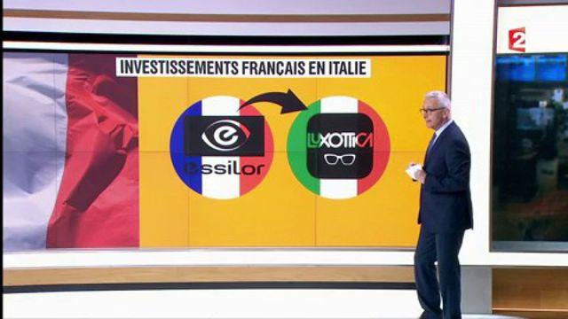 France / Italie : les précédents rachats d'entreprises entre les deux pays