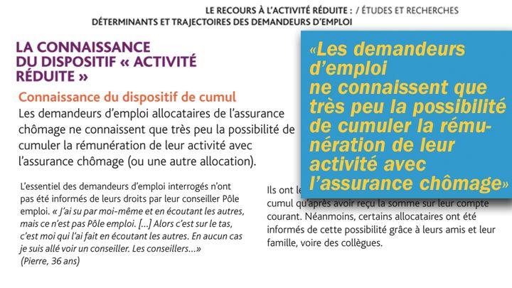 Les demandeurs d'emploi ne connaissent pas certains droits liés à leur assurance chômage. (Cellule investigation / Radio France)