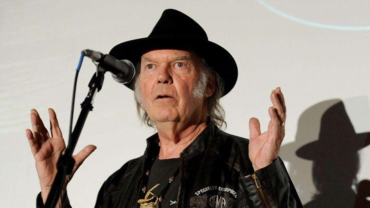 Neil Young le 21 janvier 2014.  (Frank Micelotta/AP/SIPA)