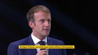 Afrique-France : Emmanuel Macron réunit un sommet avec la société civile africaine (FRANCEINFO)