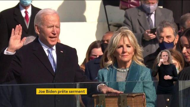 Etats-Unis : Joe Biden prête officiellement serment et devient le 46e président des Etats-Unis