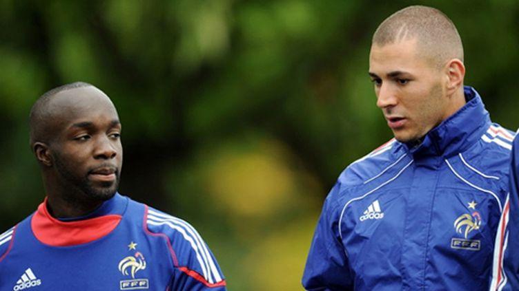 Lassana Diarra - Karim Benzema - Clairefontaine 2010