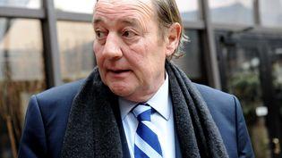 Le président du RC Lens, Gervais Martel, à Paris le 25 février 2011. (ALEXIS REAU /SIPA)