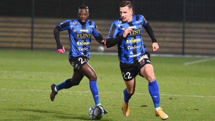 Le FC Chambly ne pourra inscrire que 10 joueurs professionnels sur la feuille de match face à Clermont (STEPHANE VALADE / STEPHANE VALADE)