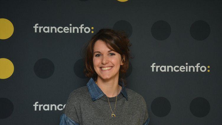 "Fanny Agostini, présentatrice de ""Thalassa"" sur France 3. (JEAN-CHRISTOPHE BOURDILLAT / RADIO FRANCE)"