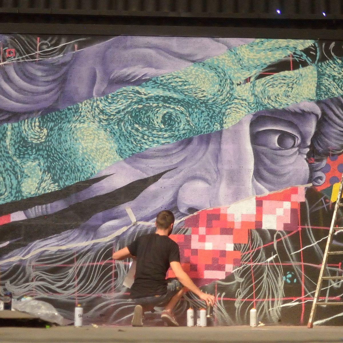 Peinture Fraiche Un Festival De Street Art Haut En Couleur A Lyon