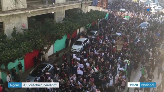 Algérie : Abdelaziz Bouteflika candidat à sa réélection