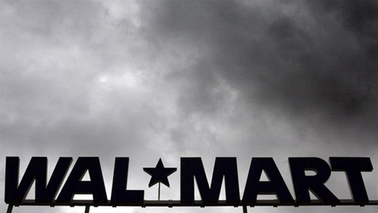Une enseigne Walmart (à Dortmund en Allemagne) (AFP - DDP - VOLKER HARTMANN)