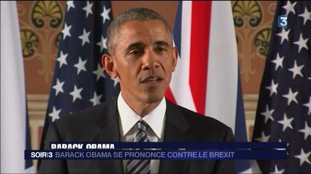 Barack Obama se prononce contre le Brexit