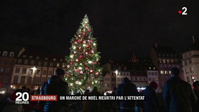 Strasbourg : le marché de Noël meurtri par l'attentat