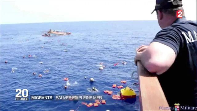 Crise des migrants : nouveau naufrage au nord de la Libye