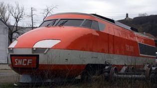 La rame TGV 001 est sortie des ateliers d'Alstom, à Belfort, il y a 45 ans. (MAXPPP)