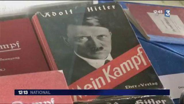 """Réédition de """"Mein Kampf"""" : un succès de librairie qui fait polémique"""