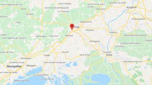 L'entrepôtest situéà Nîmes, quartier Saint-Césaire. (GOOGLE MAPS)