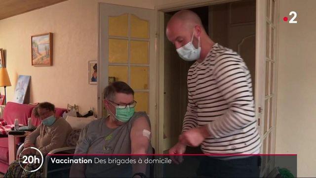 Covid-19 : des brigades de vaccination à domicile