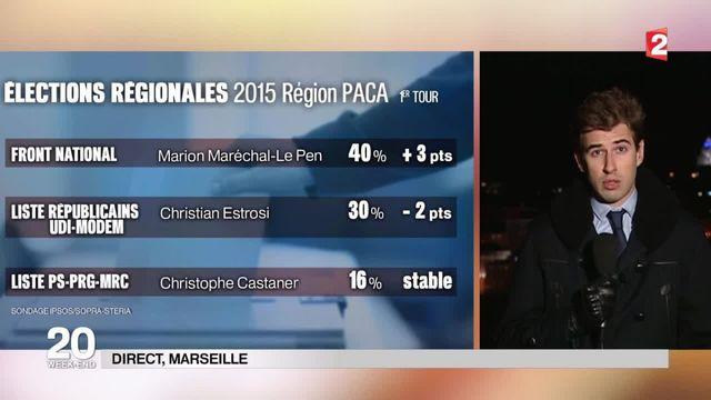 Régionales : Maréchal-Le Pen favorite en Paca