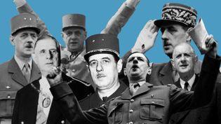 Le général de Gaulle a été maintes fois cité lors de la campagne de l'élection présidentielle de 2017. (FRANCEINFO)