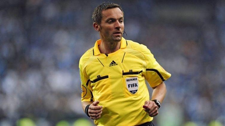 L'arbitre français Stéphane Lannoy
